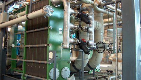 היחזור אנרגיה במתקני התפלה באמצעות מחליפי חום